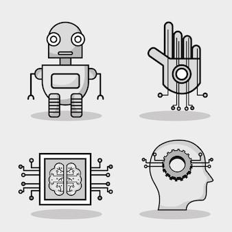 人工知能技術を設定する