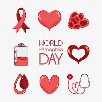 Установить день гемофилии на лечение в общине