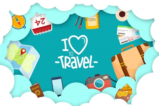 Туристический комплекс путешествие по миру.