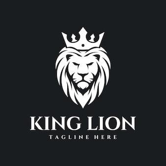 Логотип король лев