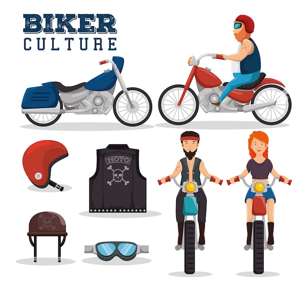 バイカーの文化