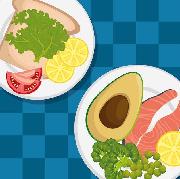 健康食品のメニューアイコン