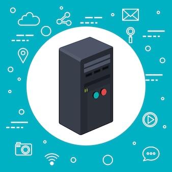 Случай технологии рабочих станций для компьютерных серверов