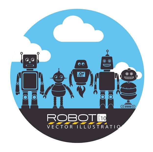ロボットの設計、ベクトル図