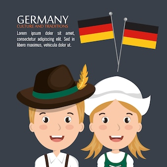 ドイツ文化のデザイン