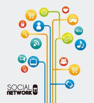 ソーシャルネットワークの設計