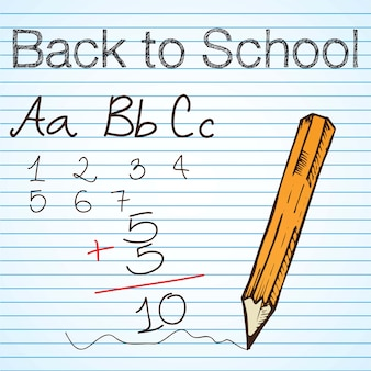 戻る学校の行のアイコンのベクトルのセット