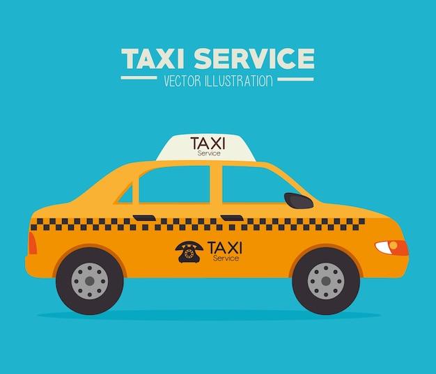Такси дизайн, векторные иллюстрации.