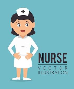 医療デザイン、ベクトル図。