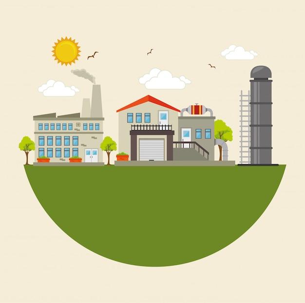 工場および産業プラント設備
