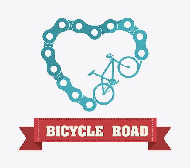 Дизайн велосипеда.