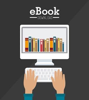 電子ブックデザイン。