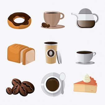 Дизайн кофе.