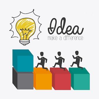 アイデアのデザイン。