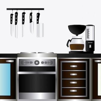 キッチンデザイン。