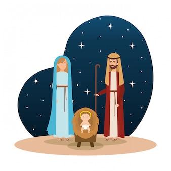 聖なる仲間のキャラクター