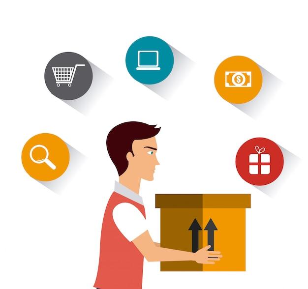 配送および物流事業