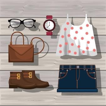 Женский дизайн одежды