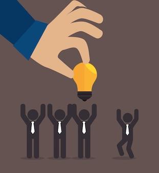 大きなアイデア、創造力と知性