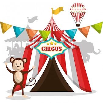 Цирковое шоу-дизайн