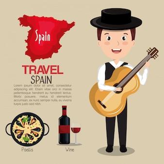 スペインの文化アイコンは、アイコンのデザインを分離