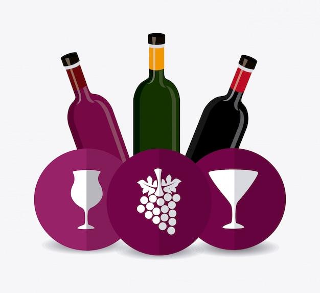 ワインのデザイン