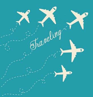 夏、旅行、休暇