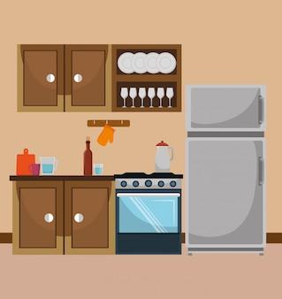 キッチンと食器