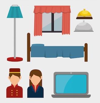 ホテルの製品とサービスの設計