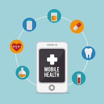 Мобильный дизайн здоровья