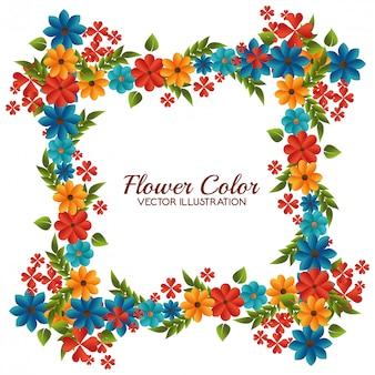 花の色デザイン