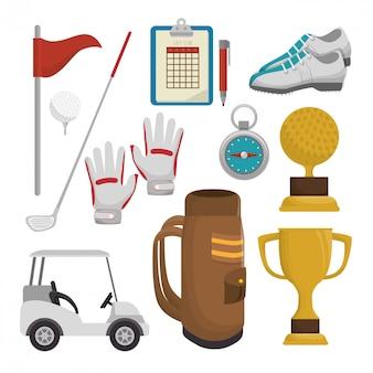 ゴルフトーナメントデザイン