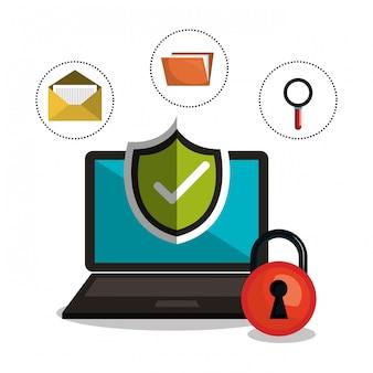 インターネットセキュリティ情報アイコン