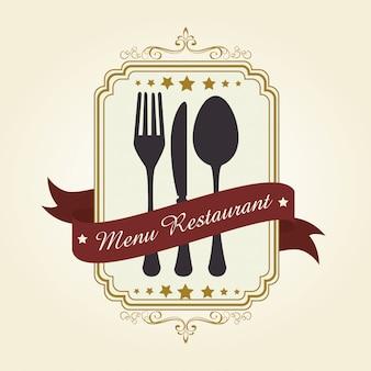レストランとキッチンの食器類