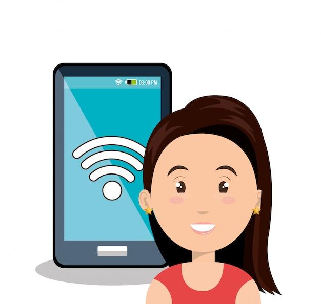 Интернет-коммуникационные технологии изолированные значок