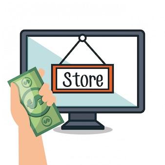 Компьютерная электронная коммерция купить рынок изолированы