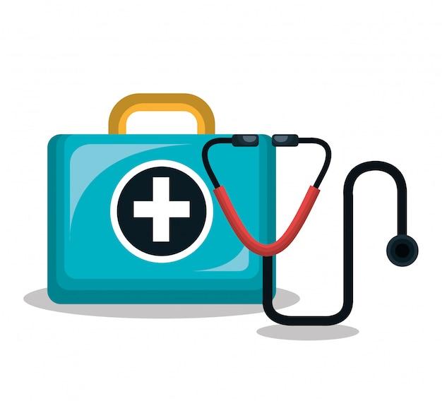 応急処置キット聴診器分離