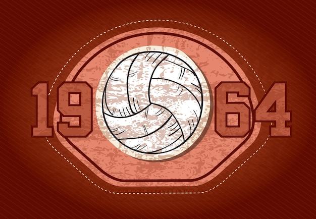 スポーツアイコンコンセプト(さまざまな要素とオブジェクト)