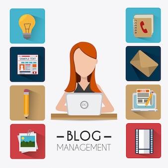 Дизайн блога.
