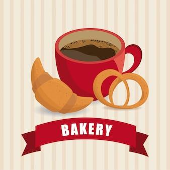 Пекарня дизайн.