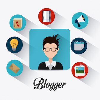 Блоггер цифрового дизайна.