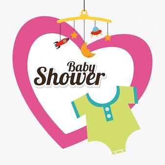 ベビーシャワーのデザイン