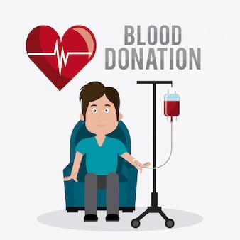 Дизайн донорства крови.