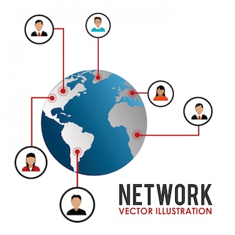 Дизайн социальной сети