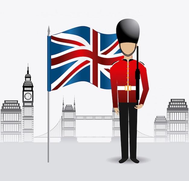 ロンドンイングランドのデザイン。
