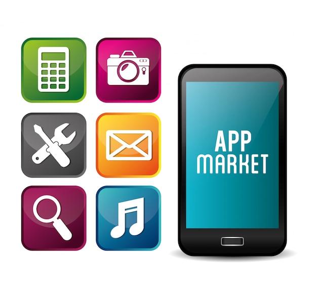 電子商取引および市場のモバイルアプリケーションの設計