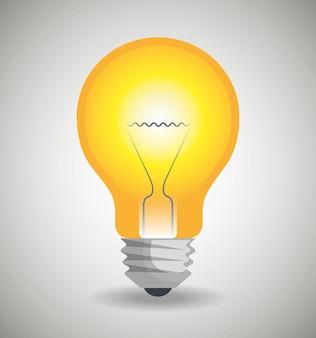 Значок лампочки