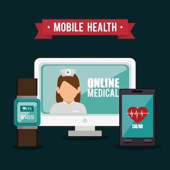 Онлайн медицинский дизайн