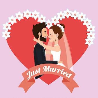 ちょうど結婚されていたカップルがアバターのキャラクターにキス