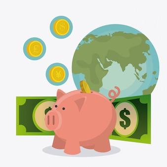 世界経済、お金とビジネス